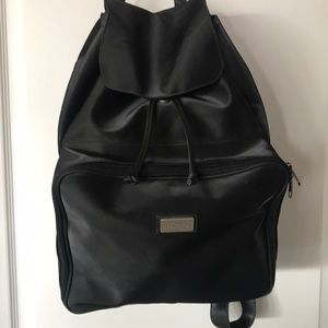 Kenneth Cole Reaction black nylon backpack